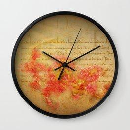 Flirtation Wall Clock