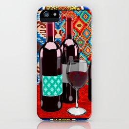 Wine Southwest Vibes iPhone Case