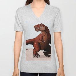 Dino Unisex V-Neck