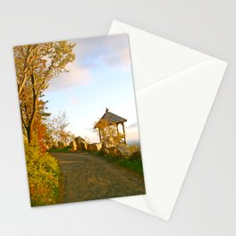 Sunset on Mohonk Trail, New Paltz, New York Stationery Cards