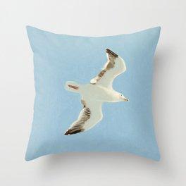 Sky Blue Sky - A Throw Pillow