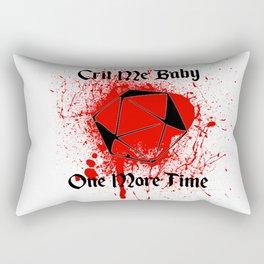Crit Me Baby Rectangular Pillow