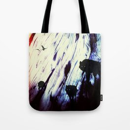 Space Wolf Dream Tote Bag