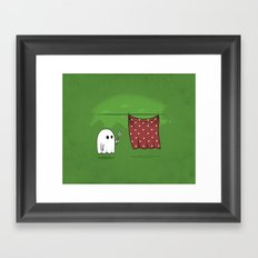 Friendly Ghost Framed Art Print