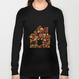 Body the house Long Sleeve T-shirt