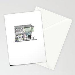 Penang Street Scene I Stationery Cards