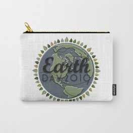 Earth Day 2019 - Textured paper Carry-All Pouch