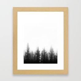 Forest Minimalist Framed Art Print