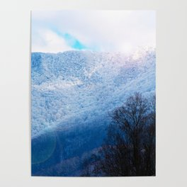 Winter Mountain Poster