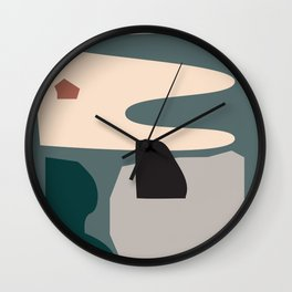 // Shape study #21 Wall Clock