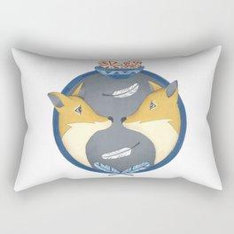 fox couple Rectangular Pillow