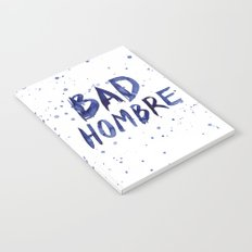 Bad Hombre Watercolor Art Notebook