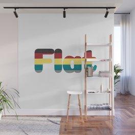 Flat Wall Mural