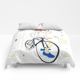 Bicycle Another Life-Cycle Comforters