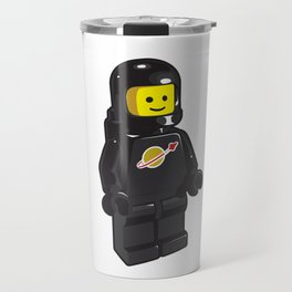 Vintage Black Spaceman Minifig Travel Mug