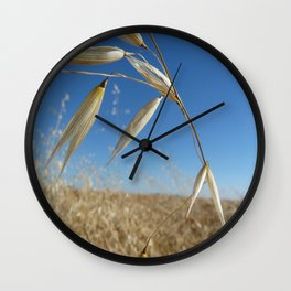 Canadian Agriculture Wall Clock