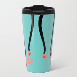 Shoe Gurl Metal Travel Mug