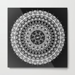Serenade of Seeing B&W Metal Print