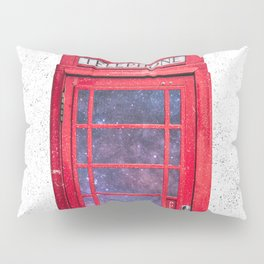 Telephone Box Portal London England Pillow Sham