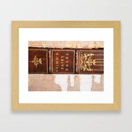 Grimm's Fairy Tales Framed Art Print