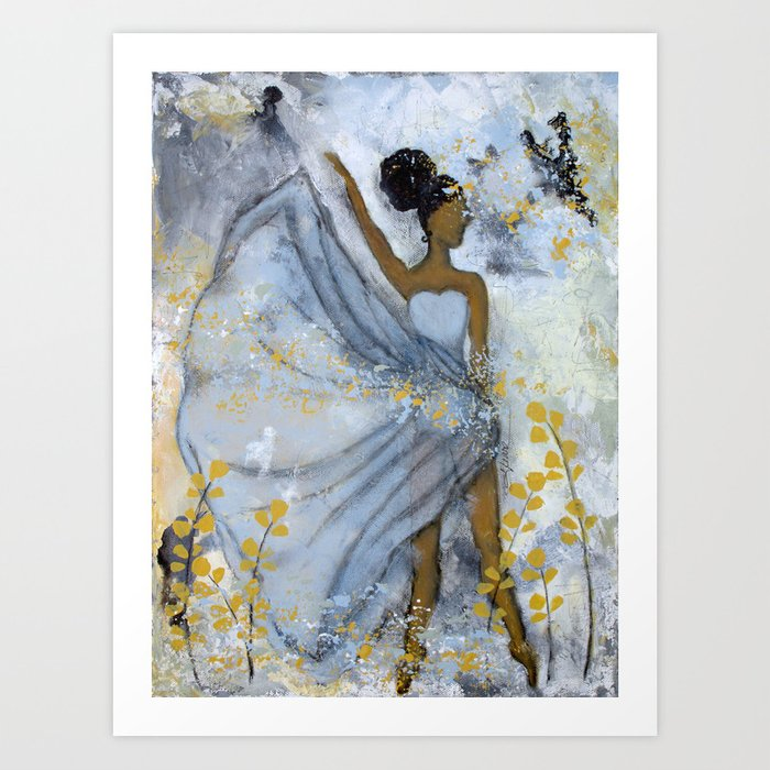 Grit and Grace Art Print