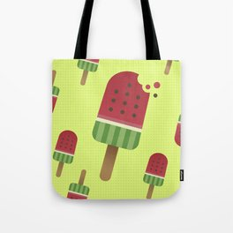 Watermelon Ice Pop Tote Bag