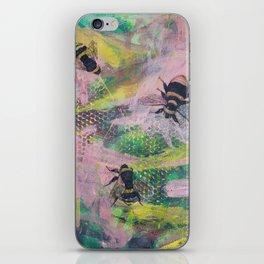 Bee Trio iPhone Skin