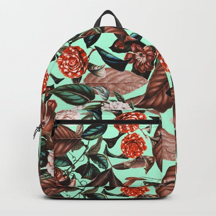 Summer Botanical Garden VII Backpack