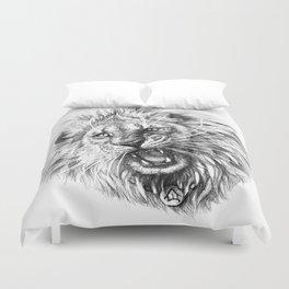 Lion roar G141 Duvet Cover