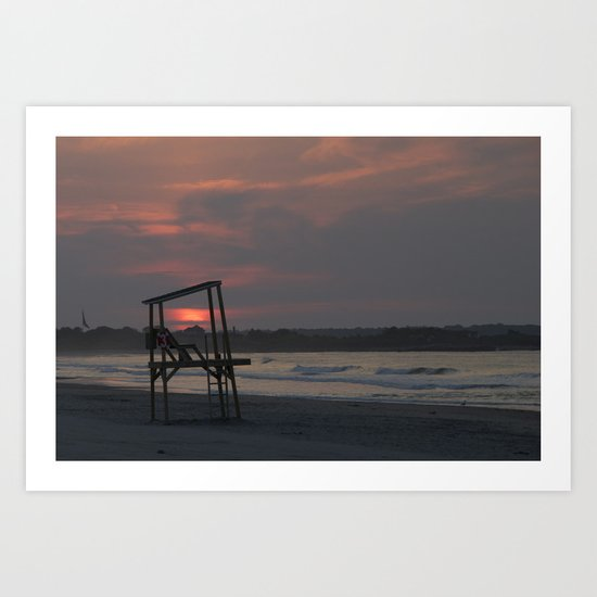 By the dawn's early light Art Print