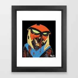 Hey Zombie! Framed Art Print