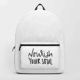 Nourish Your Soul Backpack
