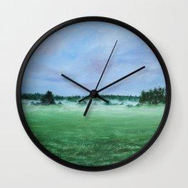 Midsummer night Wall Clock