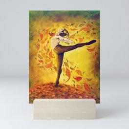 Autumnal Spirit by Mary Bottom Mini Art Print