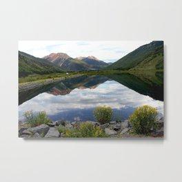 Crystal Lake on the Million Dollar Highway, elevation 9,611 feet Metal Print