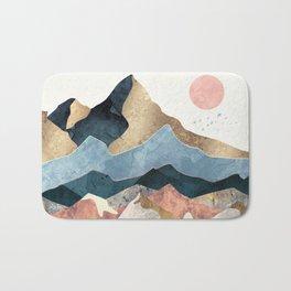Golden Peaks Bath Mat