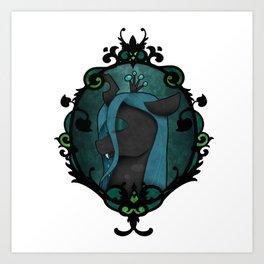 Queen Chrysalis Art Print