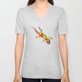 Mr. Lizard 1 Unisex V-Neck