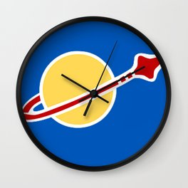 Blue Spaceman! Benny from Lego The Movie! Wall Clock