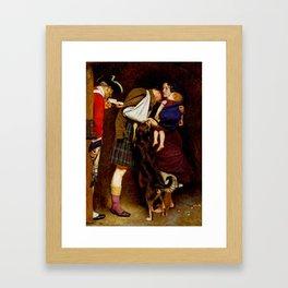 Sir John Everett Millais, Bt , The Order of Release 1746 1852–3 Framed Art Print