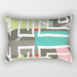 The Enigma Rectangular Pillow