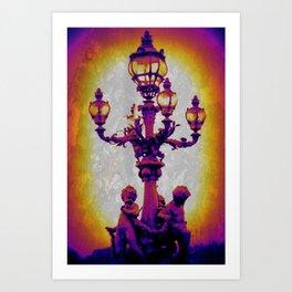 Lampish Art Print
