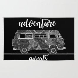 adventure awaits world map design 5 Rug