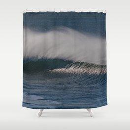 Windy Wave Shower Curtain