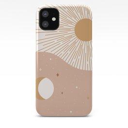 Yin Yang Blush - Sun & Moon iPhone Case