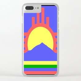 flag of Roswell Clear iPhone Case