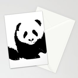 ''Nowhere Collection'' - Panda Bear Print Stationery Cards