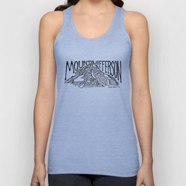Mount Jefferson Unisex Tank Top
