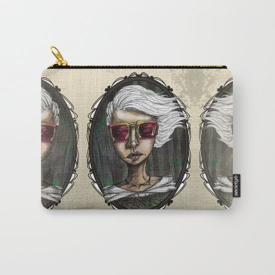 Modern Vintage Carry-All Pouch