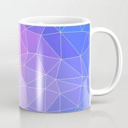 Abstract Colorful Flashy Geometric Triangulate Design Coffee Mug